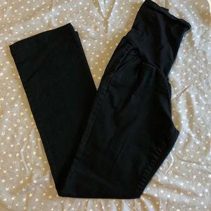 Motherhood Maternity Black Boot Cut Jeans
